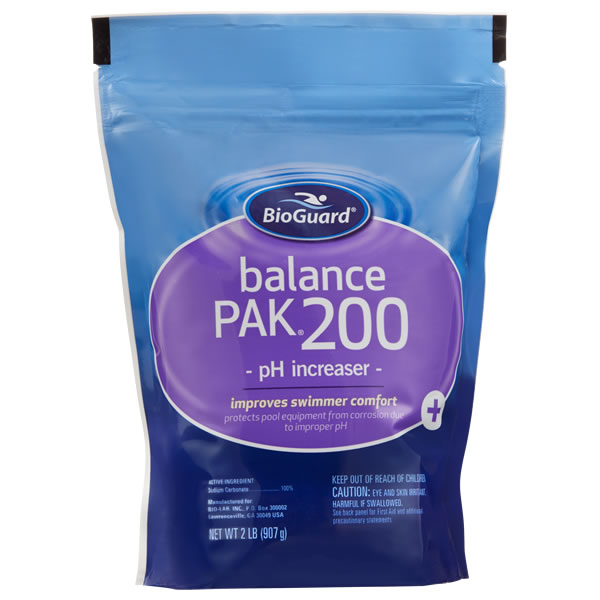 BioGuard Balance Pak 200 pH Increaser - 2 LB