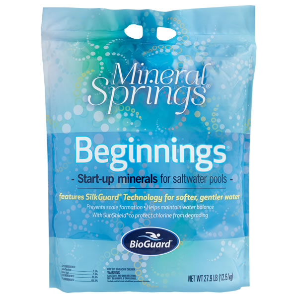 BioGuard Mineral Springs Beginnings for Swimming Pools