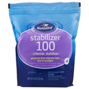 BioGuard Stabilizer 100 - 5 LB for Swimming Pools