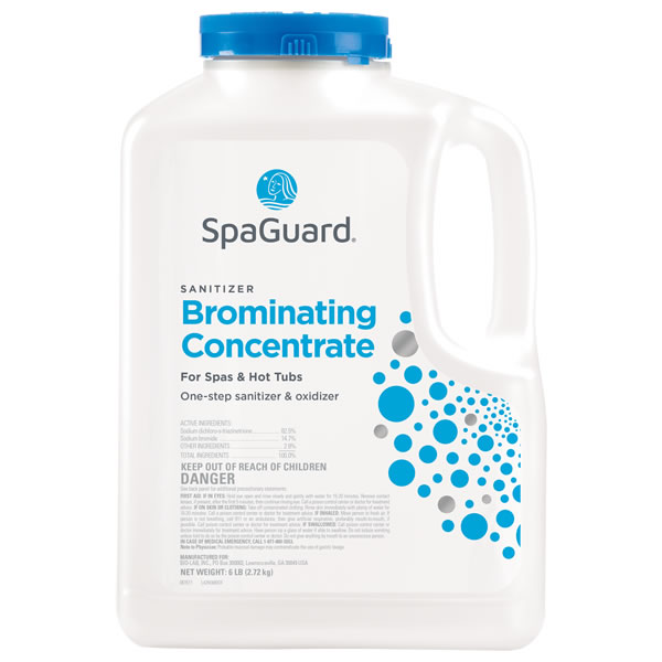 SpaGuard Brominating (Bromine) Concentrate - 6 LB for Hot Tubs (Spas)