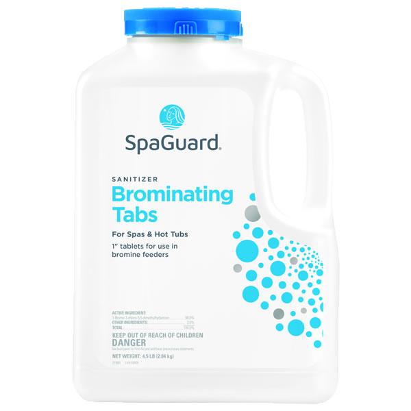 SpaGuard Brominating (Bromine) Tablets - 4.5 LB for Hot Tubs (Spas)