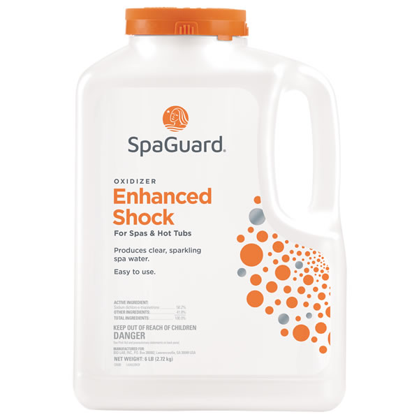 SpaGuard Enhanced Shock Oxidizer - 6 LB for Hot Tubs